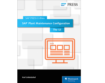 Cover von SAP Plant Maintenance Configuration: The UI