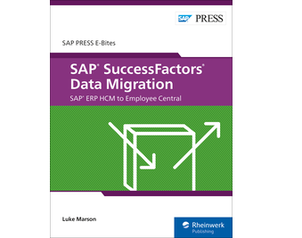 Cover von SAP SuccessFactors Data Migration: SAP ERP HCM to Employee Central