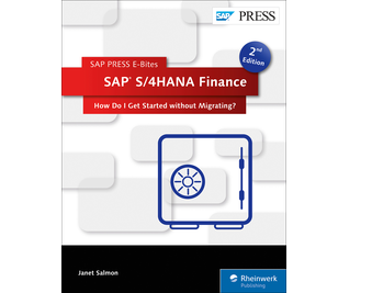 Cover of SAP S/4HANA Finance: How Do I Get Started without Migrating?