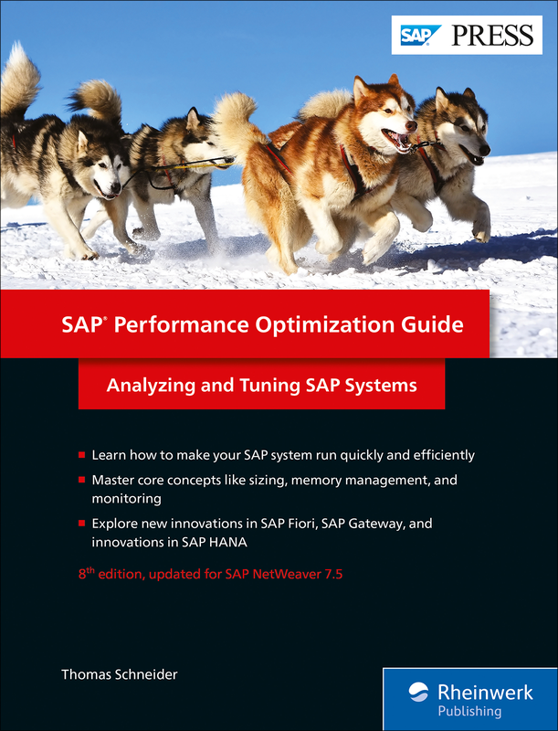 SAP Performance Optimization Guide - Analyzing and Tuning SAP Systems