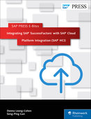 Cover of Integrating SAP SuccessFactors with SAP HCP Integration Service (SAP HCI)