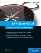 Cover of SAP Sales Cloud: Sales Force Automation with SAP C/4HANA