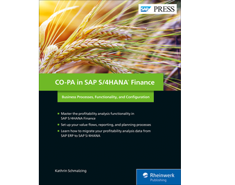 Cover of CO-PA in SAP S/4HANA Finance
