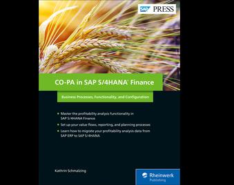 Cover of CO-PA in SAP S/4HANA Finance
