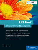 Cover von SAP Fiori Implementation and Development