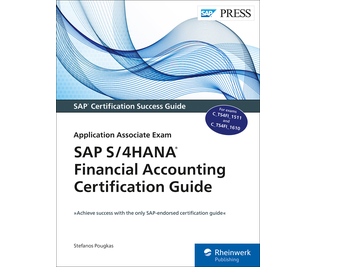 Cover von SAP S/4HANA Financial Accounting Certification Guide