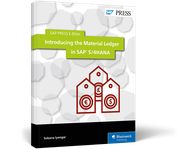 Cover of Introducing the Material Ledger in SAP S/4HANA