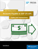 Cover of Accounts Payable in SAP (FI-AP): Tasks and Transactions