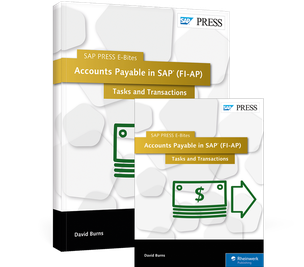 Cover von Accounts Payable in SAP (FI-AP): Tasks and Transactions