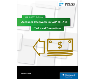 Cover of Accounts Receivable in SAP (FI-AR): Tasks and Transactions