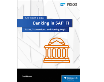 Cover von Banking in SAP FI: Tasks, Transactions, and Posting Logic