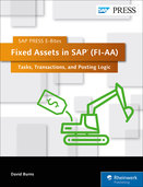 Cover von Fixed Assets in SAP (FI-AA): Tasks, Transactions, and Posting Logic