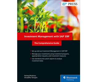 Cover von Investment Management with SAP ERP