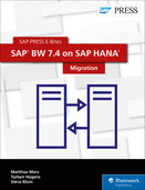 Cover of SAP BW 7.4 on SAP HANA: Migration