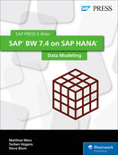 Cover of SAP BW 7.4 on SAP HANA: Data Modeling