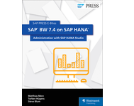 Cover of SAP BW 7.4 on SAP HANA: Administration with SAP HANA Studio