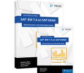 Cover von SAP BW 7.4 on SAP HANA: Administration with SAP HANA Studio