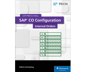 Cover of SAP CO Configuration: Internal Orders