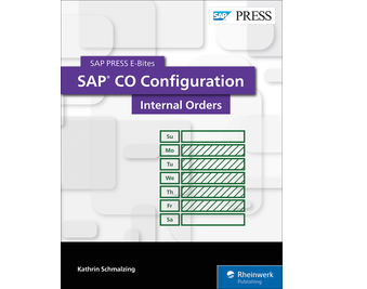 Cover von SAP CO Configuration: Internal Orders