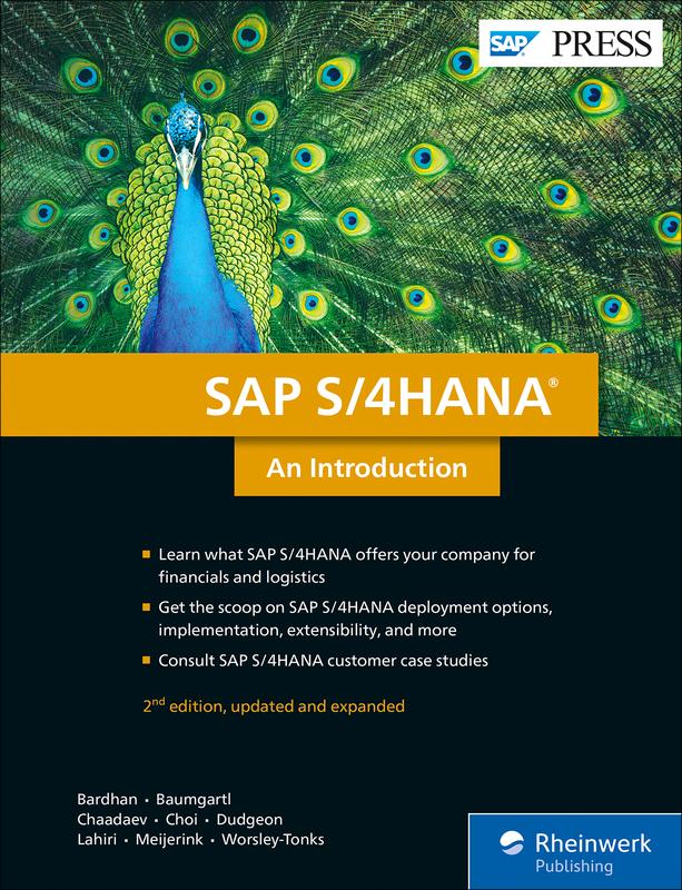 SAP S/4HANA Introduction | Book & E-Book - by SAP PRESS