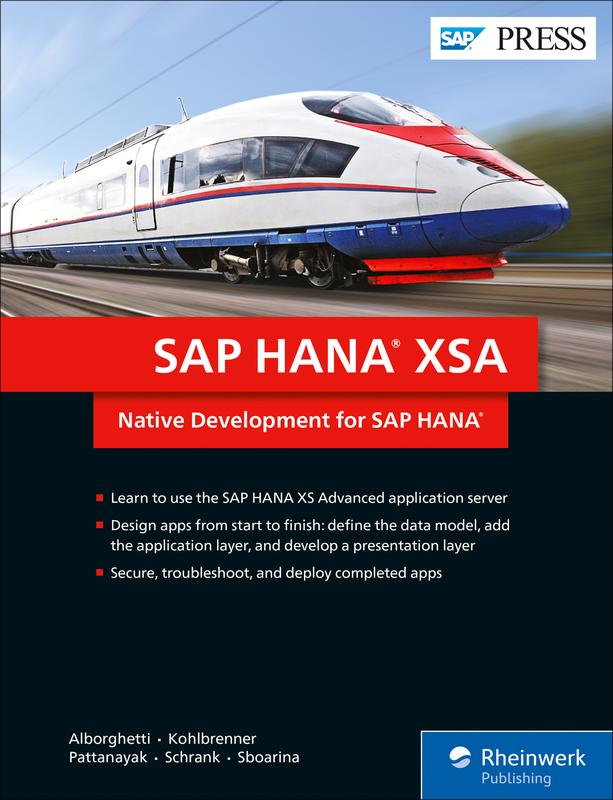 SAP HANA XSA - Native Development for SAP HANA