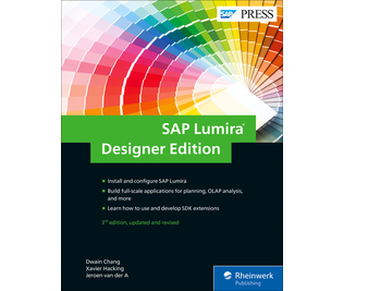 Cover von SAP Lumira, Designer Edition