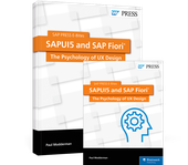 Cover von SAPUI5 and SAP Fiori: The Psychology of UX Design