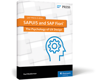 Cover of SAPUI5 and SAP Fiori: The Psychology of UX Design