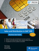 Cover of Sales and Distribution in SAP ERP: Business User Guide