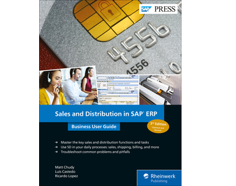 Cover von Sales and Distribution in SAP ERP: Business User Guide