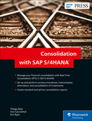 Cover of Consolidation with SAP S/4HANA
