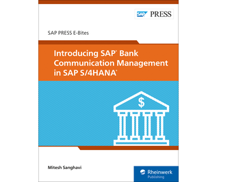Cover von Introducing SAP Bank Communication Management in SAP S/4HANA