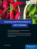 Cover von Sourcing and Procurement in SAP S/4HANA