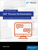 Cover von SAP Process Orchestration: Monitoring Messages, Channels, and Processes in SAP PO
