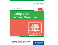 Cover von Using SAP Screen Personas