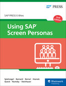 Cover of Using SAP Screen Personas
