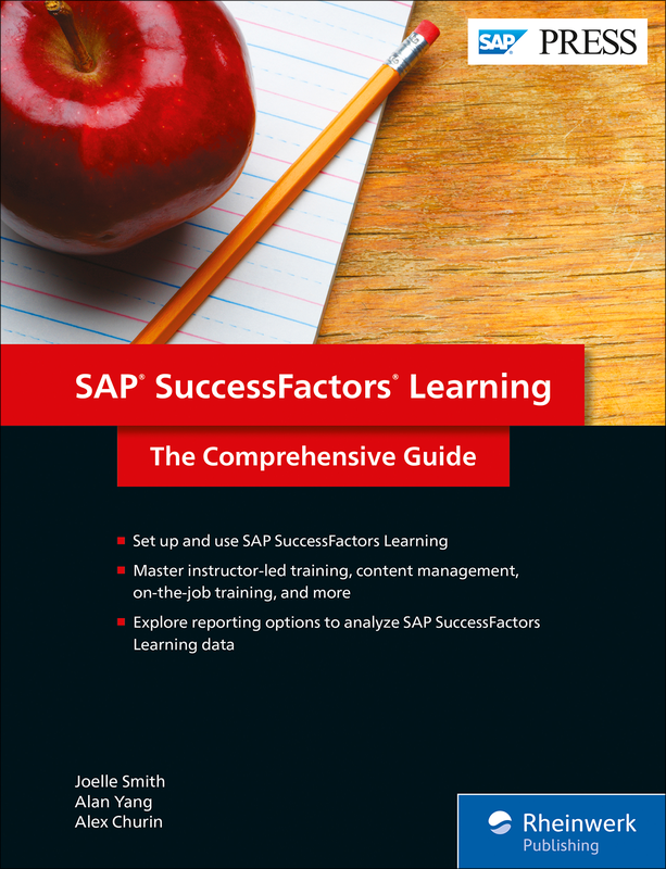 Sap Successfactors Learning Book And E Book By Sap Press