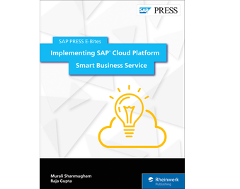 Cover of Implementing SAP Cloud Platform Smart Business Service