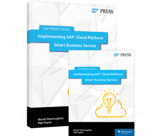 Cover von Implementing SAP Cloud Platform Smart Business Service