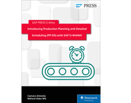 Cover von Introducing Production Planning and Detailed Scheduling (PP-DS) with SAP S/4HANA