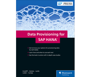 Cover von Data Provisioning for SAP HANA