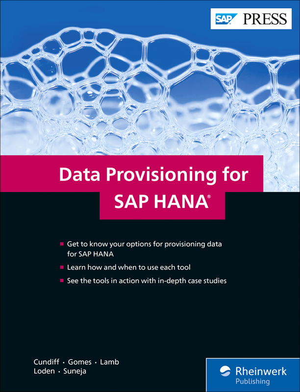 Data Provisioning for SAP HANA