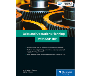 Cover of Sales and Operations Planning with SAP IBP