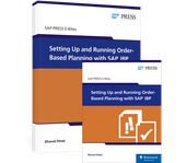 Cover von Setting Up and Running Order-Based Planning with SAP IBP