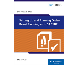 Cover of Setting Up and Running Order-Based Planning with SAP IBP