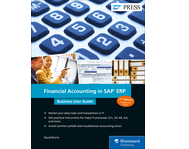 Cover von Financial Accounting in SAP ERP: Business User Guide