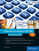 Cover of Financial Accounting in SAP ERP: Business User Guide