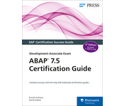 Cover von ABAP 7.5 Certification Guide