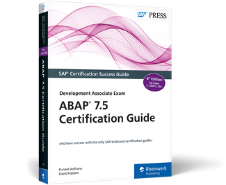 Cover of ABAP 7.5 Certification Guide