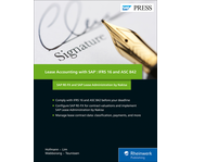 Cover of Lease Accounting with SAP: IFRS 16 and ASC 842
